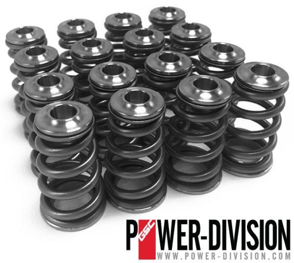 GSC Power Division 5073 | GSC P-D Subaru EJ Single Conical Valve Spring Titanium Retainer & Spring Seat Kit