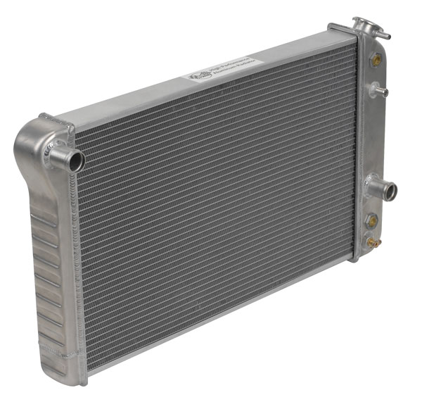 "DeWitts 1149006M | Direct Fit Radiator HP Camaro All, CF, Manual, 2 row 1.25"" Tubes, Natural; 1982-1992"