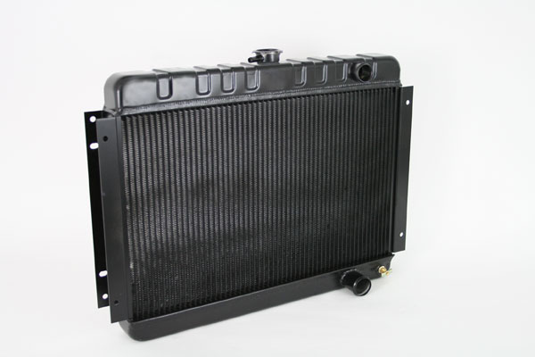 "DeWitts 1249001M |  Direct Fit Radiator Chevelle SB / BB DF, Manual, HP 2 row 1.25"", Black Ice; 1964-1965"