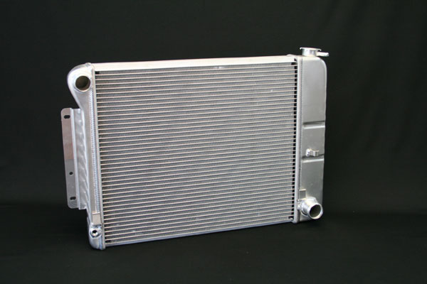 "DeWitts 1149004M |  Direct Fit Radiator HP Camaro SB, 20.75"" Core CF, Manual, 2 row 1.25"" Tubes, Natural; 1967-1969"