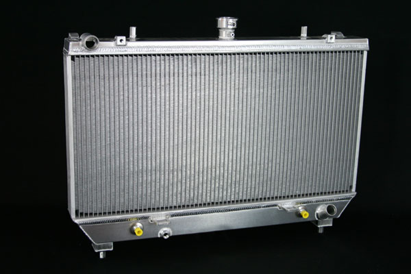 "DeWitts 1149008A |  Direct Fit Radiator HP Camaro All. DF, Auto or Manual, 2 row 1.25"" Tubes, Natural; 2010-2011"