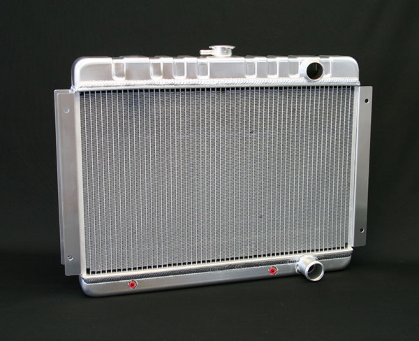 "DeWitts 1149001A | Direct Fit Radiator HP Chevelle SB / BB DF, Auto, 2 row 1.25"" Tubes, Natural; 1964-1965"