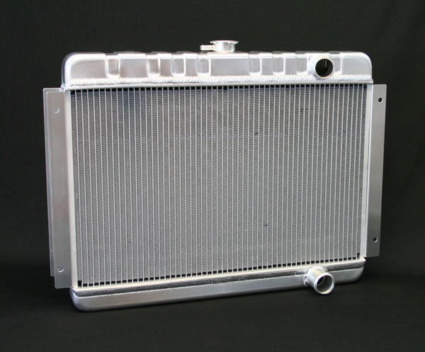 "DeWitts 1149001M | Direct Fit Radiator HP Chevelle SB / BB DF, Manual, 2 row 1.25"" Tubes, Natural; 1964-1965"