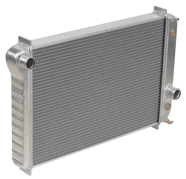 "DeWitts 1139090A |  Direct Fit Radiator Corvette, All Auto, Double core 2 row 1"" Tube, Natural; 1990-1996"