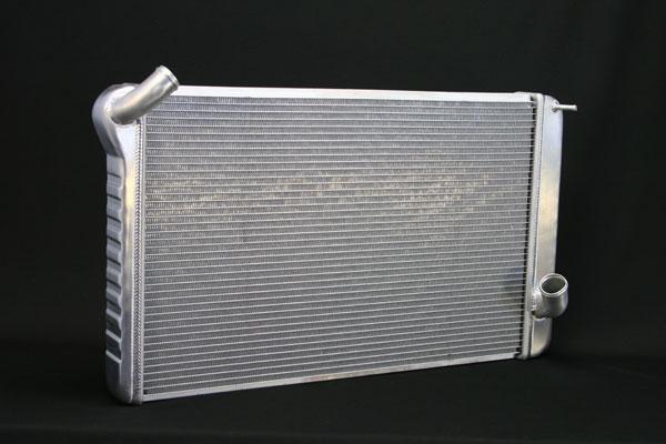 "DeWitts 1149069M |  Direct Fit Radiator HP Corvette, BB Manual 2 row 1.25"" Tube, Natural; 1969-1972"