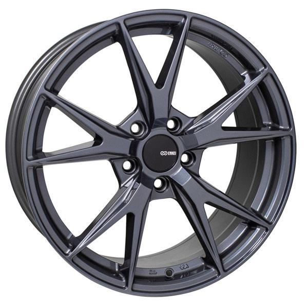 Enkei 523-880-4445bgm | Phoenix 18x8 45mm Offset 5x112 72.6mm Bore Blue Gunmetal Wheel