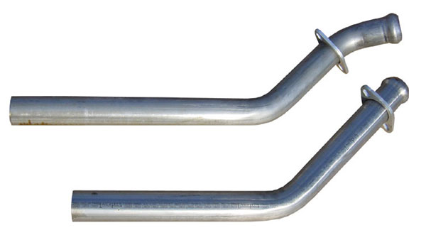 Pypes Exhaust DFM10S: Pypes DOWNPIPES 65-69 Mustang 351C Only