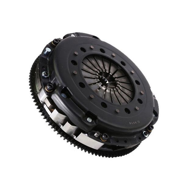 DKM Clutch MS-006-005 | BMW E36 E46 (6 Cyl) OE 5-Spd OE Style MS Twin Disc Clutch Kit and Flywheel; 1990-2006
