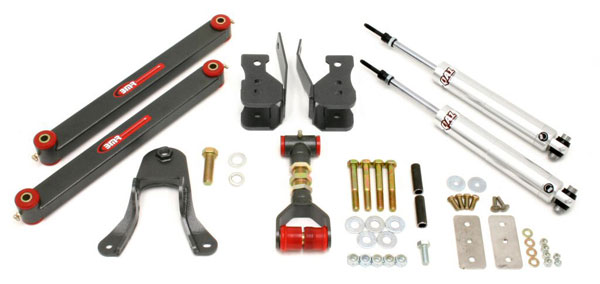 BMR Suspension DRP001: BMR 2005-10 Mustang Drag Race Rear Package Level 1 V8