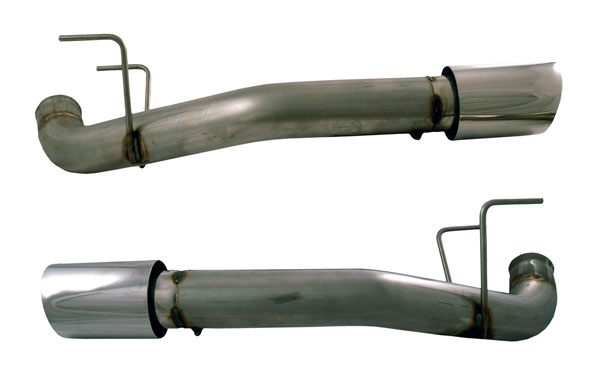 Doug Thorley Headers 86416 | Doug Thorley Ford Mustang GT 5.0L Muffler Delete Tail Pipes; 2011-2012