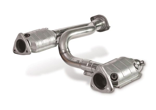 Dynatech Exhaust 715-84120 | Dynatech Chevy/GM Truck 4.8 & 5.3L Catted Intermediate Tubes; 1999-2006
