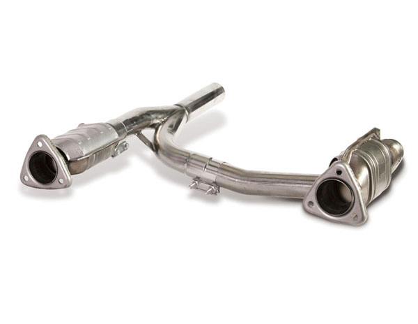 Dynatech Exhaust 722-62220: Dynatech Ford F150 2004-08 5.4L 4WD Catted Intermediate Pipes