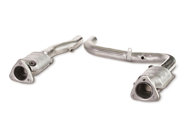 Dynatech Exhaust 722-84320 | Dynatech Ford Lightning Catted Intermediate Tubes; 1999-2004