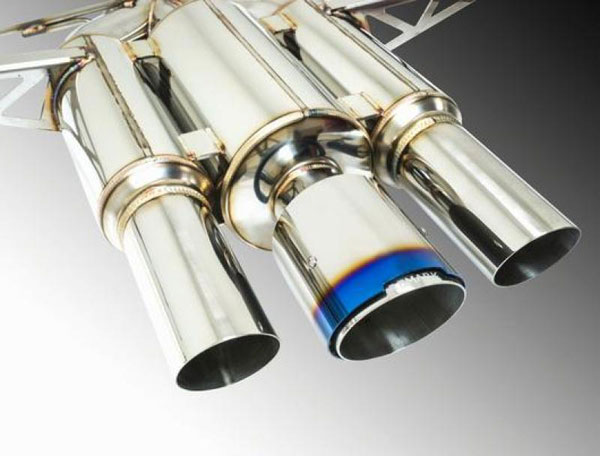 Remark rk-c3076h-01p | 2017+ Honda Civic Type R Cat-Back Exhaust Spec III w/Burnt Stainless Tip Cover; 2017-2021