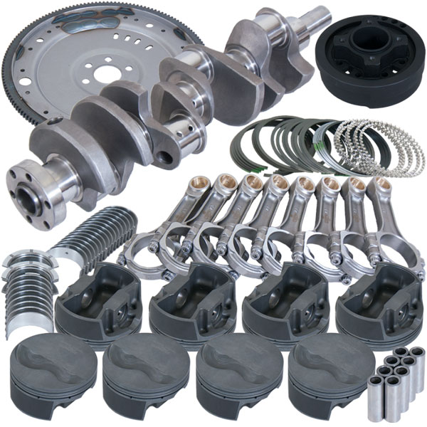 Eagle b16003ea030 | Ford 302 V-Rib Belt 157 Tooth Flexplate Balanced Rotating Assembly - 5.400in I-Beam +.030 Bore