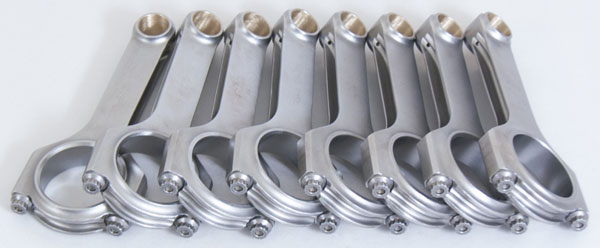 Eagle crs6125b3d   Chevrolet Small Block ESP 4340 H Beam 6.125in Connecting Rods (Set of 8)