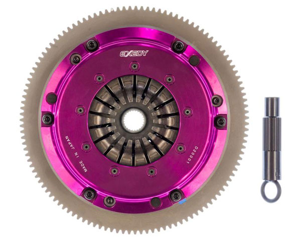 Exedy Racing HH03SD | Exedy Hyper Single Clutch Kit ACURA RSX L4 2; Sprung Disk; Push Type; 2002-2006