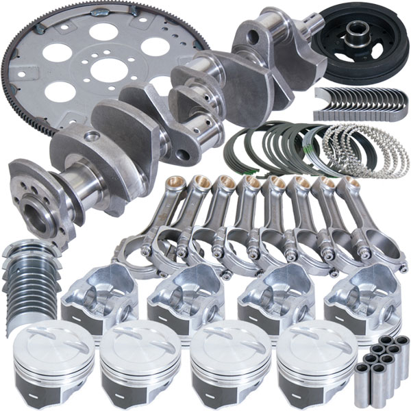Eagle b13404e040 | Chevrolet 350 Balanced Rotating Assembly 4.04in Bore +12cc 3.75in Stroke