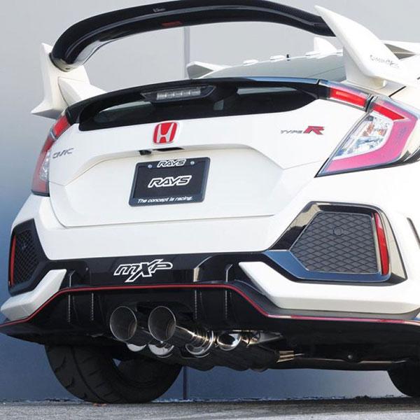 MXP mxcrfk8 | 2017+ Honda Civic Type R Comp RS Exhaust System; 2017-2021