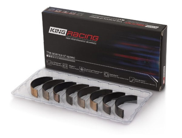 King Engine Bearings cr4046xp.026 | King Honda B20B4 / B20Z2 / D16 Series ZC 16V (Size .025mm) Rod Bearing Set