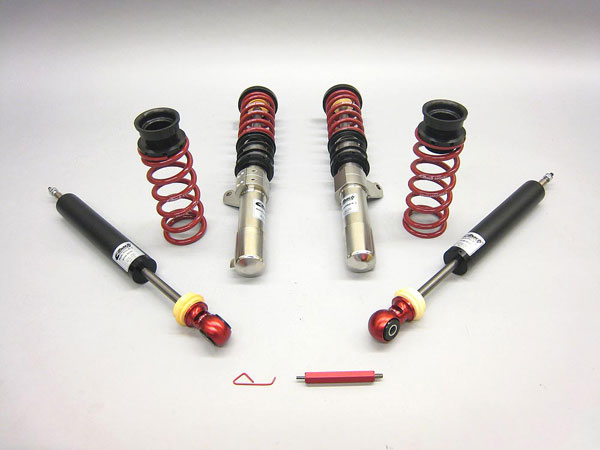 Eibach 8598.712: VOLKSWAGEN Golf MULTI-PRO-R1 Coil-Over Kit (Single Adjustable Damping & Ride-Height), MKVI 2.5L 2010 to 2014