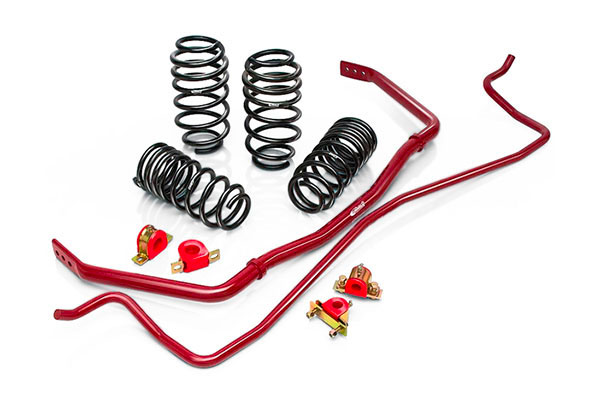 Eibach 4.10035.880:  Ford Mustang Coupe 6 Cyl. S197 2005 - 2009 SPORT-PLUS Springs & Sway Bars V8