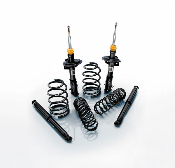 Eibach 35115.780: FORD Mustang PRO-SYSTEM (PRO-KIT Springs & PRO-DAMPER Shocks), Shelby GT500 Coupe S197 2007 to 2010