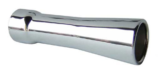 Pypes Exhaust EVT40 | Pypes 2.5 TRUMPET TIPS stainless; 1950-2011