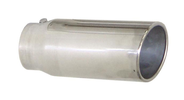 "Pypes Exhaust EVT405 | Pypes Diesel Truck Exhaust Tip 4"" in - 5"" out, 12"" long Monster Tip; 1992-2011"