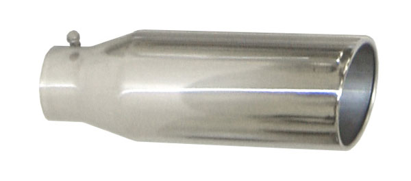 Pypes Exhaust EVT408 | Pypes Diesel Truck Exhaust Tip 4'' in - 8'' out, 18'' long Monster Tip
