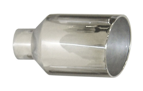 Pypes Exhaust EVT510: Pypes Diesel Truck Exhaust Tip 5'' in - 10'' out, 18'' long Monster Tip