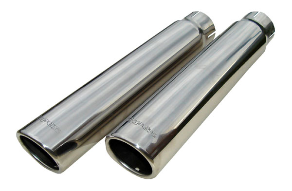 Pypes Exhaust (EVT51B) Pypes TIPS 2.5-3.5x12 rolled