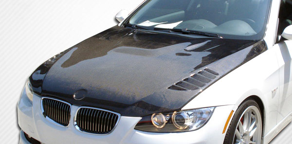 Carbon Creations (103885) 2007-2010 BMW 3 Series E92 E93 Convertible 2DR Carbon Creations Executive Hood - 1 Piece