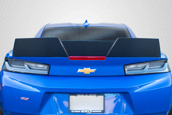 Carbon Creations 113178 | Chevrolet Camaro Carbon Creations DriTech Grid Rear Wing Spoiler 1-Piece; 2016-2017