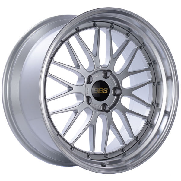 BBS LM226DSPK | LM 20x10 5x120 ET20 Diamond Silver Center Diamond Cut Lip Wheel -82mm PFS/Clip Required