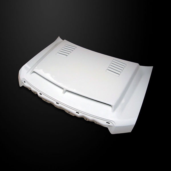 Amerihood F1509AHTEFH | Ford F-150 Type-E Style Functional Ram Air Cooling Hood; 2009-2014