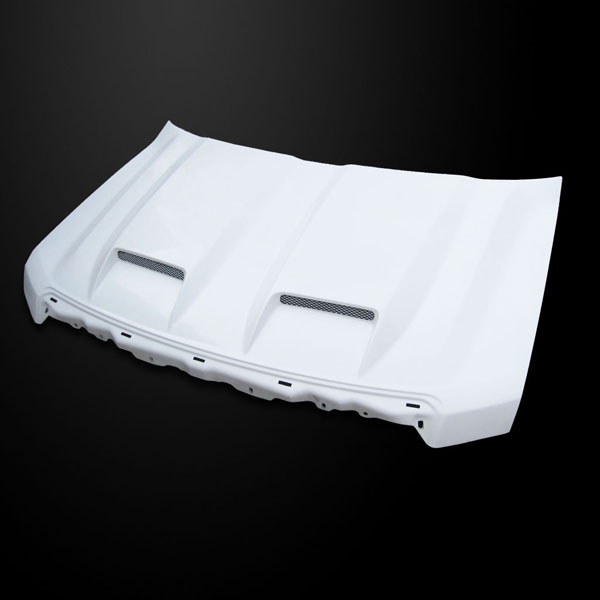 Amerihood F1509AHTSFHW | Ford F-150 Type-S Style Functional Ram Air Cooling Hood; 2009-2014