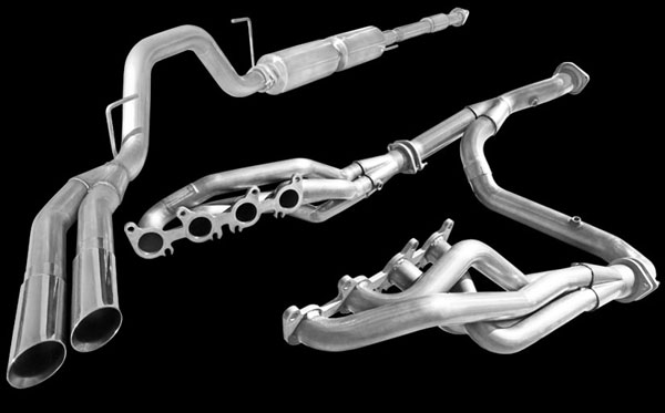 American Racing Headers F150L34WC: ARH 2011-13 Ford F150 5.0L 1-3/4'' Headers 3'' Y-Pipe With Cats Ext. Pipe To Muffler