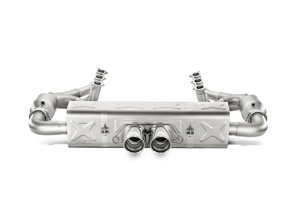 Akrapovic S-PO/TI/3/1 |  Porsche 911 GT3 RS (991) Evolution Race Line (Titanium) RS, 2014-2017