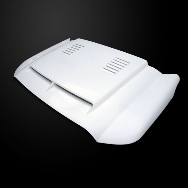 Amerihood F2511AHTEFHW |  Ford F-250 Type-E Style Functional Heat Extraction Ram Air Hood; 2011-2016
