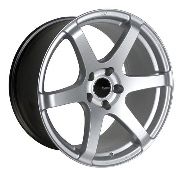 Enkei 485-780-8045sp | T6S 17x8 45mm Offset 5x100 Bolt Pattern 72.6 Bore Matte Silver Wheel