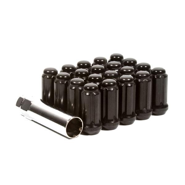Method Wheels lk-w5642stb | Method Lug Nut Kit - Spline - 14x2.0 - 6 Lug Kit - Black