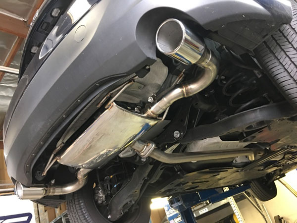 MXP mxspbmr | 13-18 Mazda 3 SUS401 Rear Section SP Exhaust System; 2013-2018