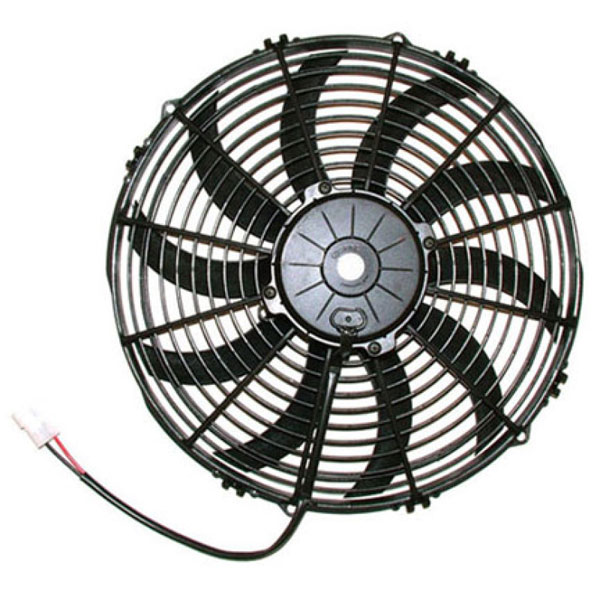 SPAL 30102044 | 1777 CFM 13in High Performance Fan - Pull / Curved