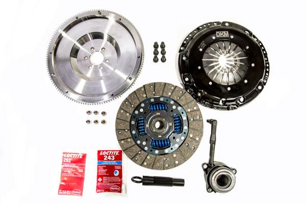 DKM Clutch MB-034-062 | 2.0 VW/Audi A3 FSI 6 Bolt Motor Sprung Organic MB Clutch Kit w/Steel Flywheel