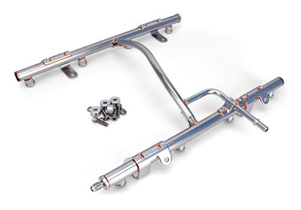 FAST 146021-KIT | OEM-Style Fuel Rail Kit for LSXR (Non-Billet); 1998-2002