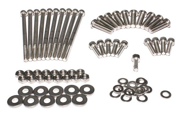 FAST 54018C-KIT | Complete LSX Manifold Stainless Steel Hardware Kit (Includes TB Mounting Hardware); 2005-2006