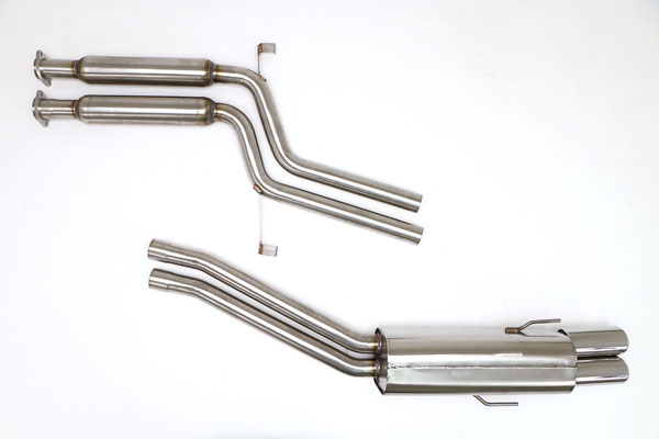 B&B Billy Boat Exhaust FBMW-0350: Billy Boat B&B BMW E-34 1994 - 1996 530 V-8