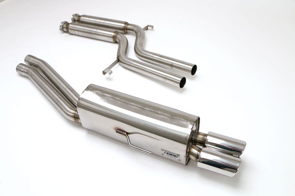 B&B Billy Boat Exhaust FBMW-0370: Billy Boat B&B BMW E-34 1994 - 1996 540 V-8