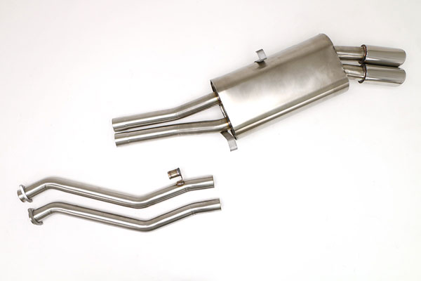 B&B Billy Boat Exhaust FBMW-0550: Billy Boat B&B BMW E-30 1983 - 1991 325ic